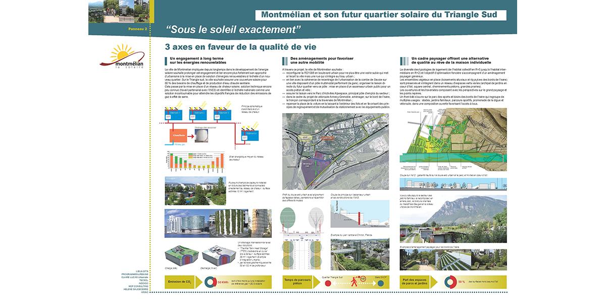 Développement urbain / MONTMELIAN